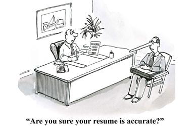 CV lies